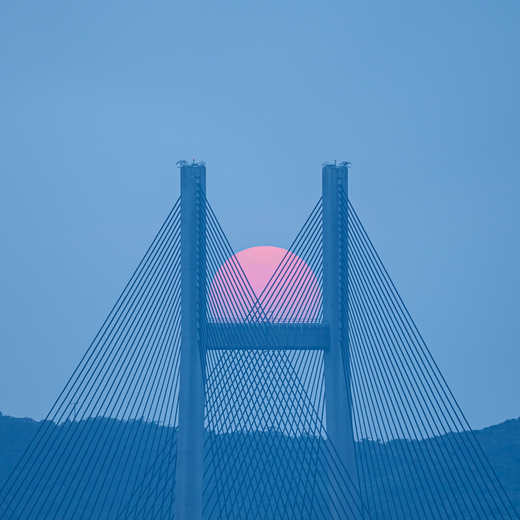 Kap Shui Mun Bridge Sunset